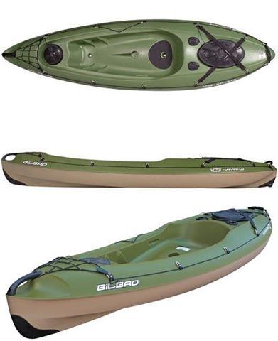 Imagen de Kayak Bilbao Fishing Green