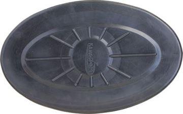 Imagen de Tambucho negro ovalado grande
