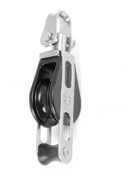 Imagen de Motón simple con giratorio, Roldana aluminio.