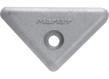 Imagen de anodo triangular volvo alumini