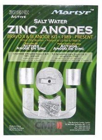 Imagen de Juego de anodo de zinc par