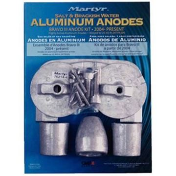 Imagen de Kit ánodos de aluminio 2004
