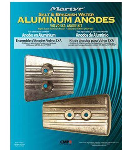 Imagen de Kit de ánodos de aluminio volv