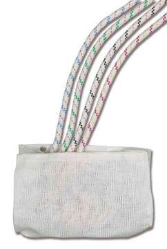 Imagen de Bolsa de almacenamiento y soporte para cuerda con fijación a la pared
