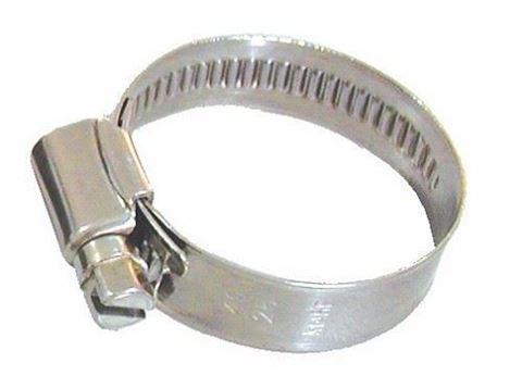 Imagen de Abrazadera inoxidable 12mm de  20-32mm de diámetro