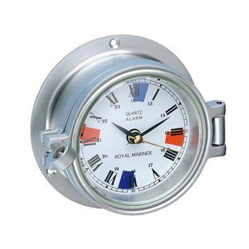 Imagen de Reloj de mamparo en silver
