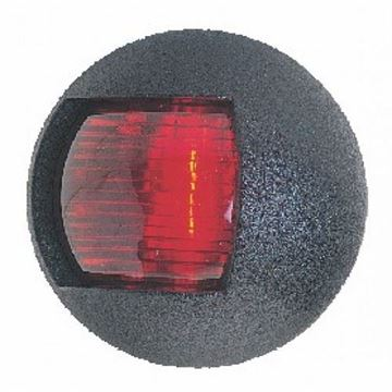 Imagen de Luz banda roja ovalada negr