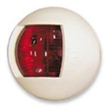 Imagen de Luz banda roja ovalda blanca