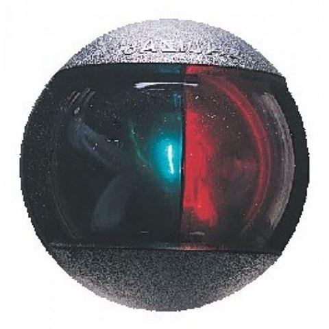 Imagen de Luz bicolor ovalada negra