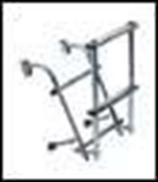 Imagen de Escalera Inox, rebatible 3 esca