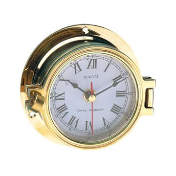 Imagen de Reloj de mamparo en bronce