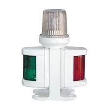 Imagen de Luz tricolor combinada con  base