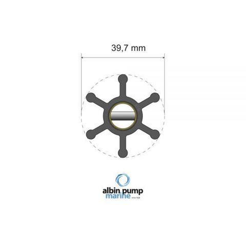 Imagen de Rotor Albin Pump PN 06-01-002