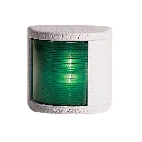 Imagen de Luz de banda estribor verde cuadrada blanca
