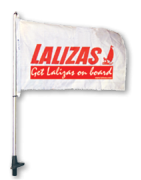 Imagen de Asta rebatible bandera 100cm