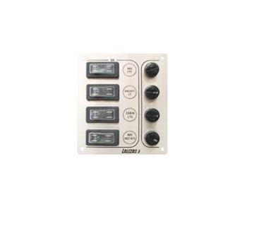 Imagen de Tablero - Panel inox 4 llaves