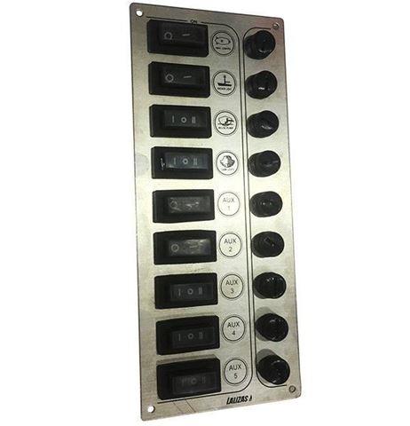 Imagen de Panel de inox con 9 funciones