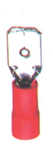 """Imagen de Terminal desconector Rojo """"Entrada de embudo"""""""