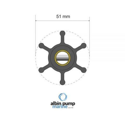 Imagen de Rotor Albin Pump PN 06-01-005