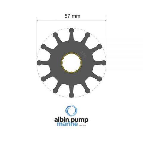Imagen de Rotor Albin Pump PN 06-01-012