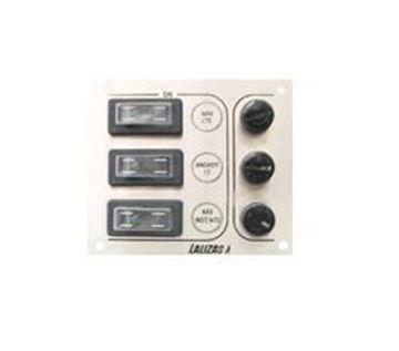 Imagen de Tablero - Panel inox 3 llaves