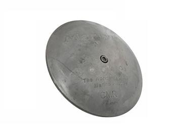 Imagen de Ánodo medallón para timón de zinc