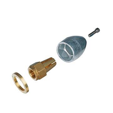 Imagen de Ánodo de zinc y tuerca para hélice