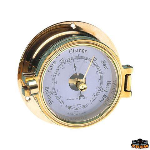 Imagen de Barómetro de aguja en bronce