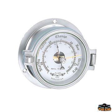 Imagen de Barómetro de agujas en silver