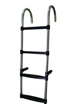 Imagen de Escalera de inox con 4 escalones